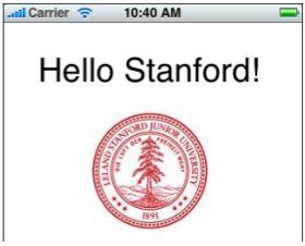 Hello Stanford