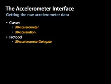 Accelerometer Interface