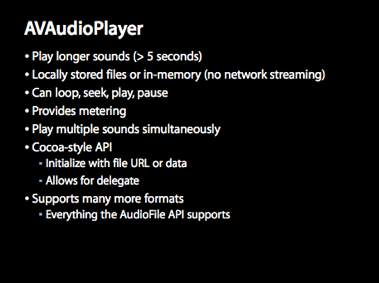 AVAudioPlayer