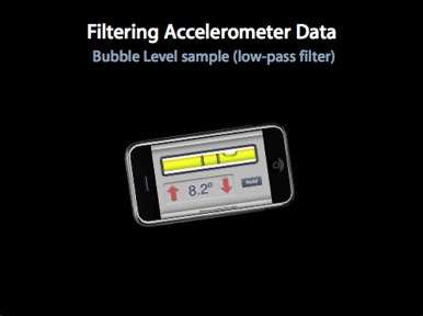 Demo Filtering Accelerometer Data