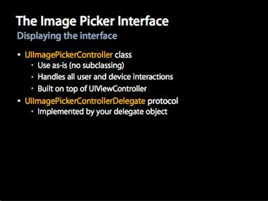 Image Picker Interface