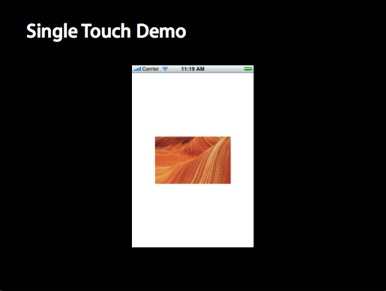 Single Touch Demo
