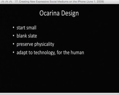 Ocarina Design