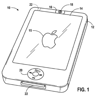 Front-Facing-Camera-Apple-Patent