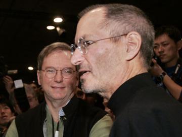 Steve Jobs Eric Schmidt