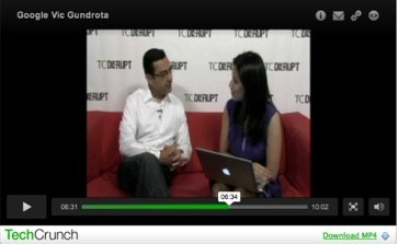 Vic Gundotra Interviewed