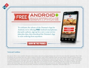 free_android_phone_from_dominos