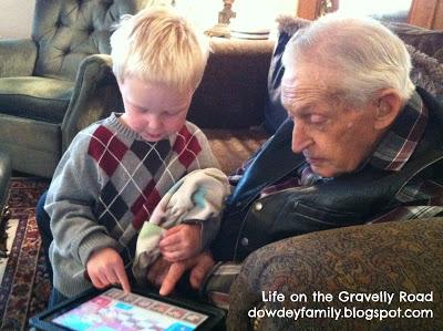 grandpa Isaac